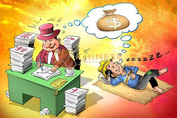 Người giàu và người nghèo khác nhau thế nào?