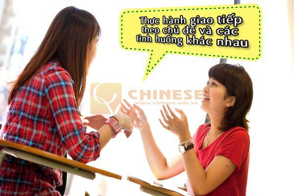 Học tiếng trung giao tiếp nâng cao tại Hà Nội