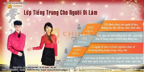 Việc làm chuyên ngành tiếng Trung