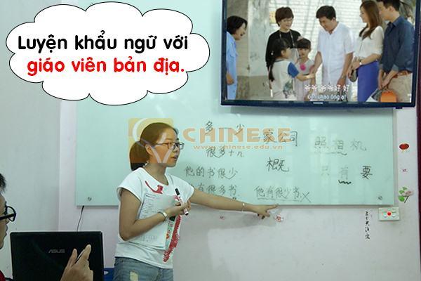 Học tiếng Trung ở trung tâm tiếng trung chinese