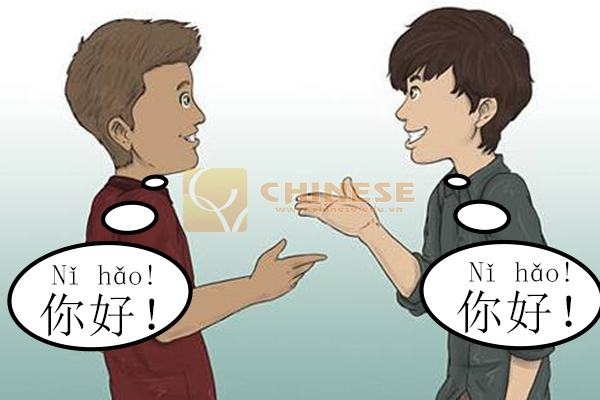 Chao hoi tieng trung Học những câu giao tiếp tiếng Trung đơn giản