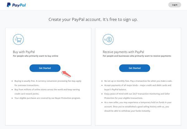 Hướng dẫn đăng ký PayPal để thanh toán Khóa học và Dịch vụ tại