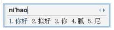 QQ Pinyin vidu