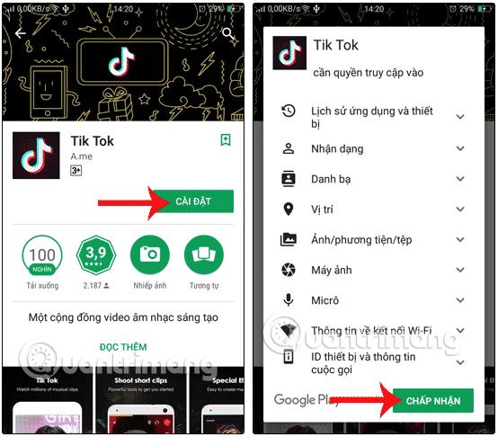 14.Cách tải tik tok Việt Nam cho IOS - Iphone