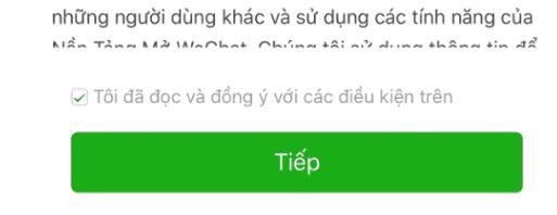 tich vao dong y huong dan cach dang ky wechat