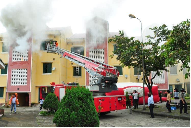 Từ vựng tiếng Trung chuyên ngành Phòng cháy chữa cháy