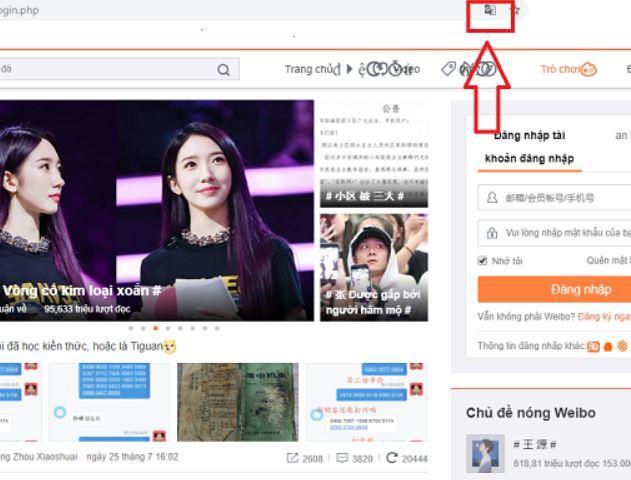 doi ngon ngu tieng viet weibo