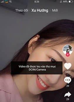 Tải video tik tok trên điện thoại 2