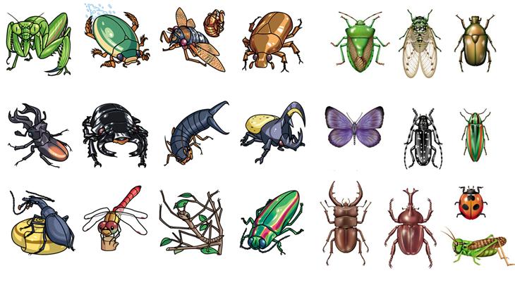 tên một số loài côn trùng trong tiếng Trung